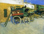 the tarascon diligence by vincent van gogh painting