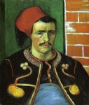 vincent van gogh the zouave painting