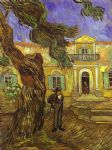 tree artwork - tree and man by vincent van gogh