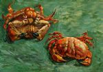 vincent van gogh two crabs painting 84550