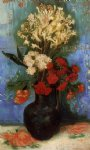 vincent van gogh vase with carnations and other flowers painting 23882