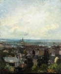 vincent van gogh view of paris from near montmartre painting 23914
