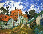 street prints - village street by vincent van gogh