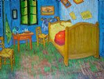 vincent s bedroom at arles by vincent van gogh painting