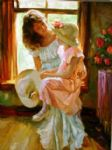 vladimir volegov art - a mid morning chat by vladimir volegov