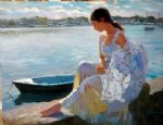 vladimir volegov art - river of dreams by vladimir volegov