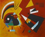 wassily kandinsky original paintings - black and violet 1923 ii by wassily kandinsky