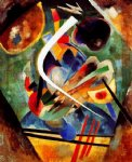black and violet by wassily kandinsky painting
