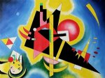 wassily kandinsky original paintings - im blau by wassily kandinsky