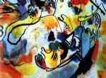 last judgement by wassily kandinsky watercolor paintings