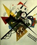 wassily kandinsky on white ii painting