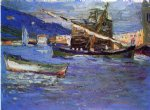rapallo by wassily kandinsky watercolor paintings
