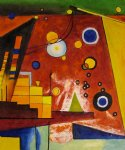 wassily kandinsky schweres rot heavy red 1924 paintings