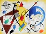 wassily kandinsky throughgoing line ii poster