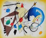 wassily kandinsky throughgoing line iii painting