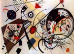throughgoing line by wassily kandinsky watercolor paintings