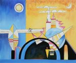 torre de kiev particolare by wassily kandinsky painting