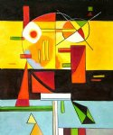 wassily kandinsky zersetzte spannung decomposed tension paintings