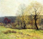 willard leroy metcalf acrylic paintings - may pastoral by willard leroy metcalf