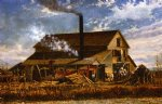 cotton gin adams county mississippi by william aiken walker original paintings