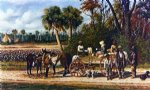 cotton wagon s empty by william aiken walker original paintings