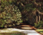 william aiken walker original paintings - forest scene with moss by william aiken walker