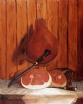 william aiken walker original paintings - smoked ham at the bonnie crest inn north carolina by william aiken walker