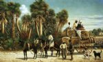 wagonload of cotton by william aiken walker painting