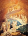 jacob s ladder by william blake painting