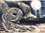 william blake the lovers whirlwind illustrates hell in canto v of dante s inferno painting