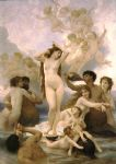 william bouguereau famous paintings - birth of venus by william bouguereau