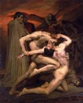 william bouguereau acrylic paintings - dante and virgil in hell by william bouguereau