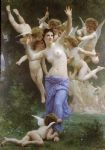 william bouguereau acrylic paintings - the wasp s nest by william bouguereau