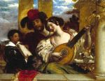 the duet by william etty posters