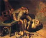 domestic squabble by william holbrook beard oil paintings