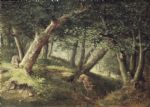 in the forest by william holbrook beard painting