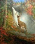 william holbrook beard original paintings - majestic stag by william holbrook beard