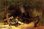 william holbrook beard art - making game of the hunter by william holbrook beard