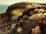 william holman hunt our english coasts oil paintings