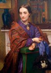 william holman hunt portrait of fanny holman hunt oil paintings