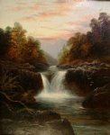 skelwith force nr ambleside westmoorland by william mellor watercolor paintings