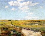 william merritt chase a sunny afternoon shinnecock hills paintings
