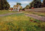 william merritt chase brooklyn landscape painting 22877