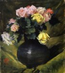 flowers posters - flowers by william merritt chase