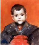 william merritt chase my baby painting 22640