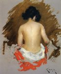 nude art - nude by william merritt chase