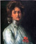 william merritt chase portrait of a young woman painting 22674