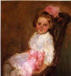 william merritt chase portrait of helen daughter of the artist painting 22681
