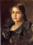 william merritt chase portrait of helen velasquez chase painting 22682