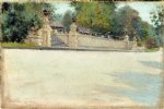 william merritt chase original paintings - prospect park brooklyn ii by william merritt chase